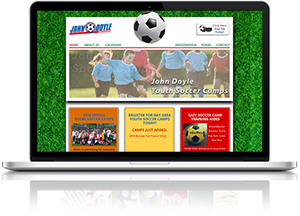 Youth Sports Web Design